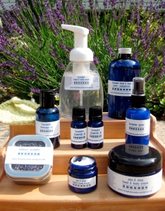 Lavender body products