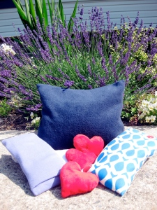 Lavender pillows and sachets